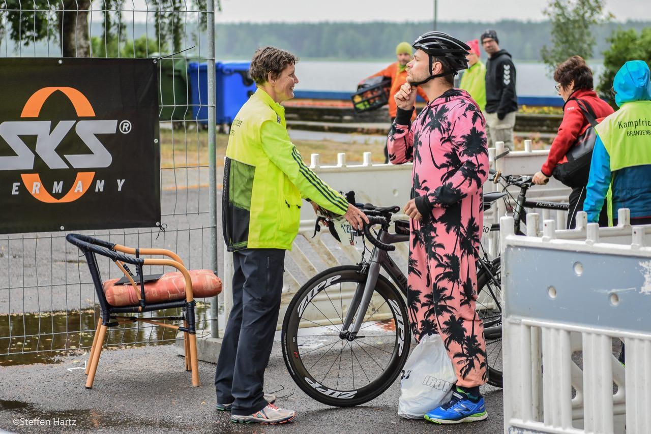 Impressionen vom Helenesee Triathlon 2018